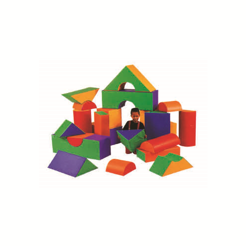 Soft Play | 23pc Spongey Building Blocks