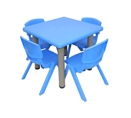 Children Table and Chairs | Minnie Square Table