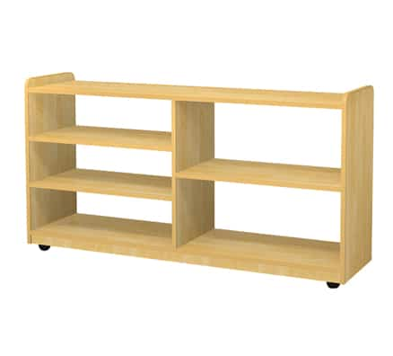 Kids Room Storage Ideas | Jordan Dual Sided Shelves