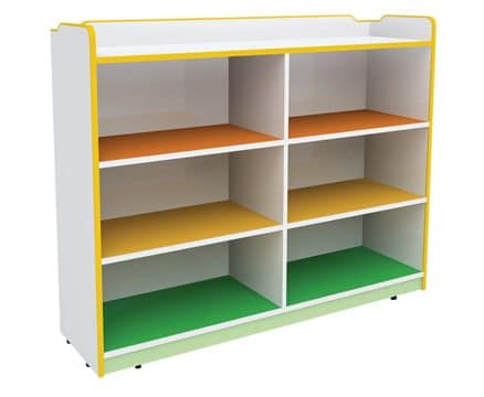 Gemma Straight Shelves | Childrens storage shelves