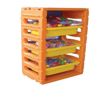 Kids Toy Storage Ideas | All Seasons Stack n Store 1 Bay