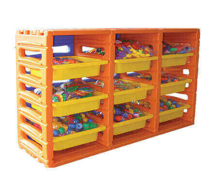 Toy Organiser | All Seasons Stack n Store 3 Bay