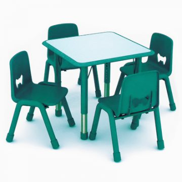 Sarah Square Table Green