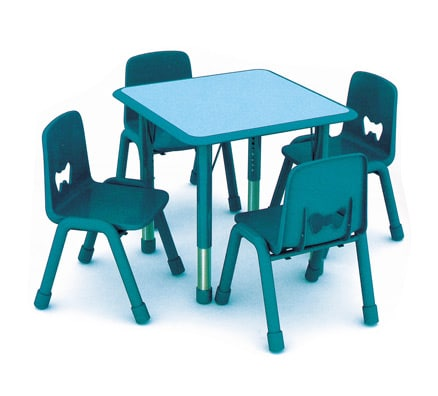 Kids Table & Chairs   Sarah Square Table