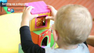 setting up a daycare