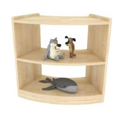 Brushwood Curved Shelves | Childrens Toy Storage