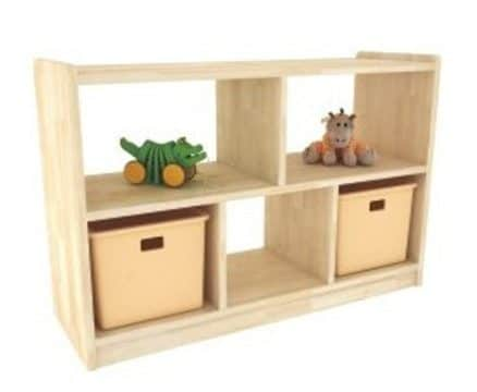 Brushwood Dual Sided Shelves | toy storage units