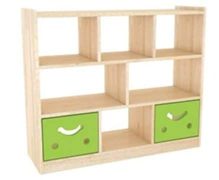 Playtime Offset Shelves | Kids Storage