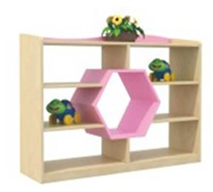 Playtime Shape Shelves | Kids Storage Ideas