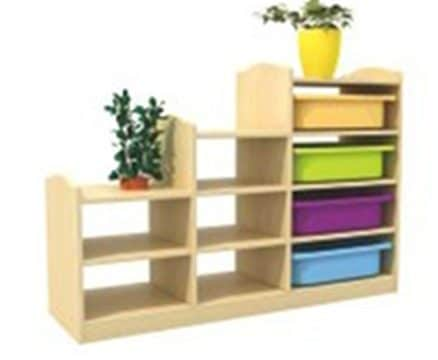 Playtime Stepped Shelves | Toy Storage Ideas