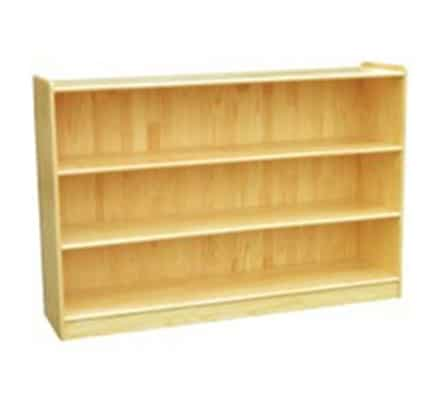 Woodland Classic Straight Shelves (3) - Natural | Toy Storage Shelves
