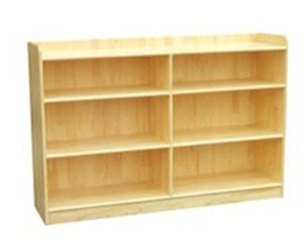 Woodland Classic Straight Shelves (6) - Natural | Toy Storage Solutions